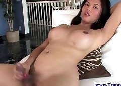 Asian with boob job