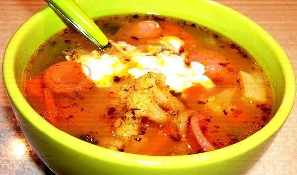Рецепты суп на быструю руку