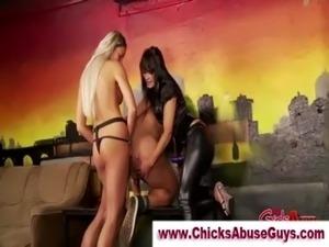 Huge black dildo video