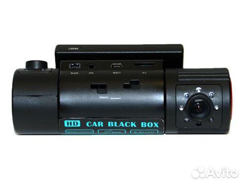 Видеорегистратор с 2 камерами купить - c8967.