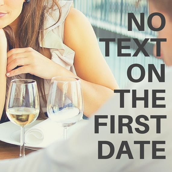 Texting rules when dating