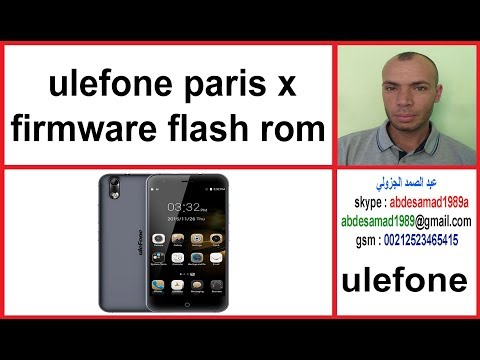 Ulefone firmware download