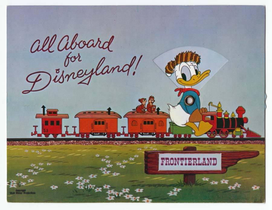Dating disneyland postcards