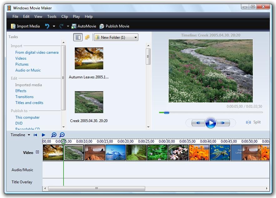 Windows Movie Maker Free Download - For Windows