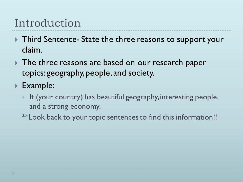 Write my example introduction to research paper