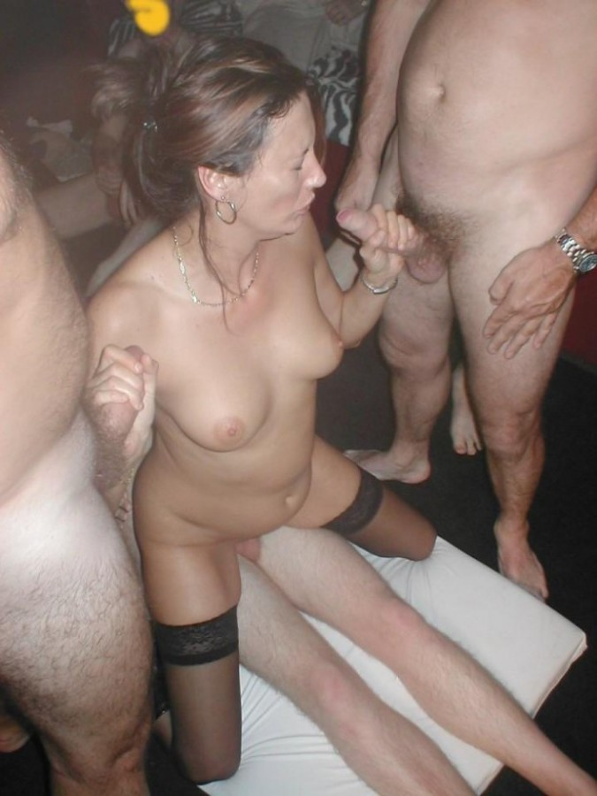 Mature amateur swinger couple really