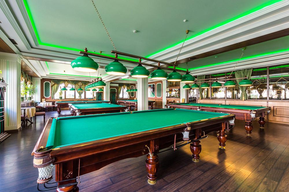 Ресторан Грин-палас - фотография 12 - Зал русского бильярда