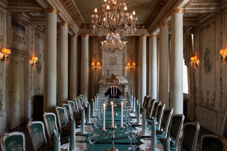Ресторан Пушкин - фотография 2 - Каминный зал