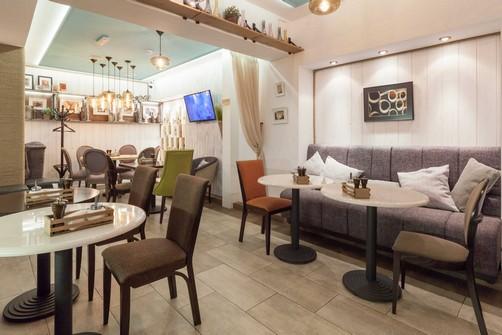 Ресторан Пироги, вино и гусь - фотография 11 - интерьеры