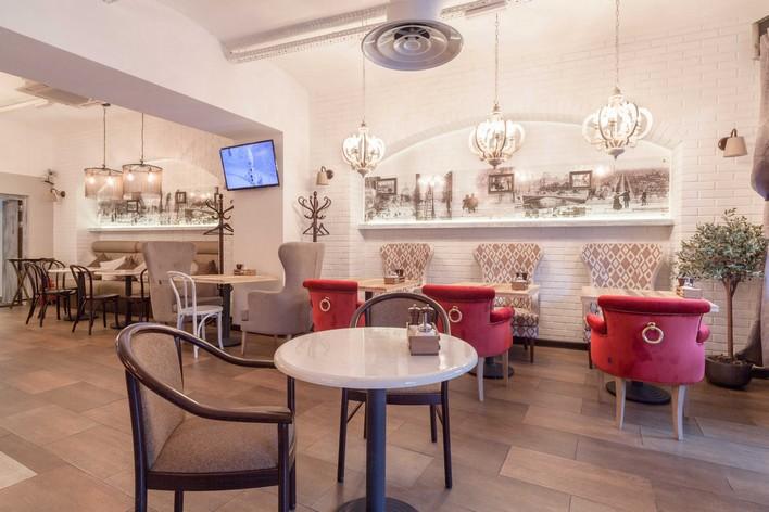 Ресторан Пироги, вино и гусь - фотография 7 - интерьер
