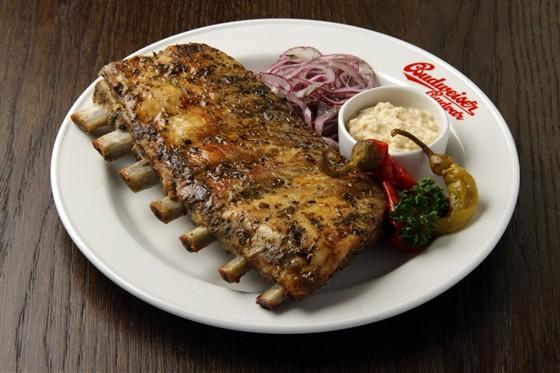 Ресторан Будвайзер Будвар - фотография 7 - Ребра свиные пряные из дровяной печи.. НЕРЕАЛЬНО ВКУСНО!