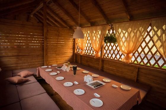Ресторан Макото - фотография 14 - Кабинет летней веранды Макото.