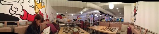Ресторан Андерсон для пап - фотография 14 - Панорамное фото зала