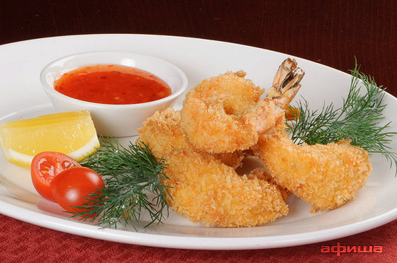 Ресторан Плотников  - фотография 23 - Тигровые креветки Темпура