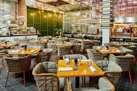 Ресторан Кукумбер - фотография 16