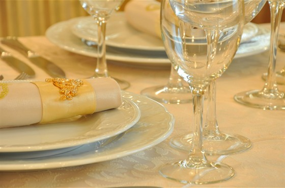 Ресторан Императрица - фотография 8 - Сервировка стола