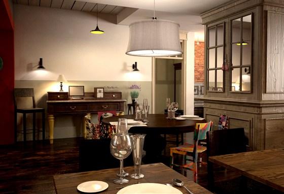 Ресторан Панаехали - фотография 1 - Бар - Гостевая зона, основного зала