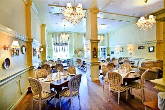 """Ресторан Пушкинист - фотография 9 - Зал """"Банкетный"""""""