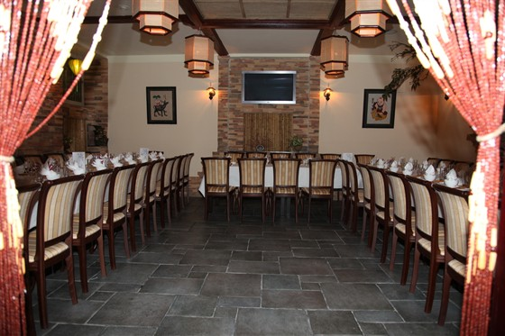 Ресторан Синяя река - фотография 16 - Второй зал