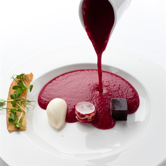 Ресторан Ёрник - фотография 15 - Ё-борщ.