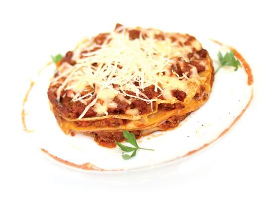 Ресторан Вкуснолюбов - фотография 4 - Блинная Лазанья