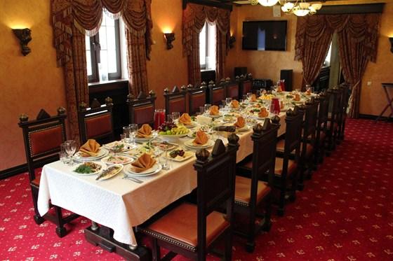 Ресторан Графский - фотография 12 - VIP залы