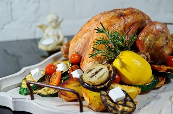 Ресторан Счастье - фотография 8 - Рождественская индейка