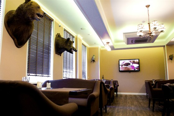 Ресторан Crazy Hunter - фотография 1 - Интерьер