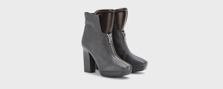 Купить черные ботинки женские