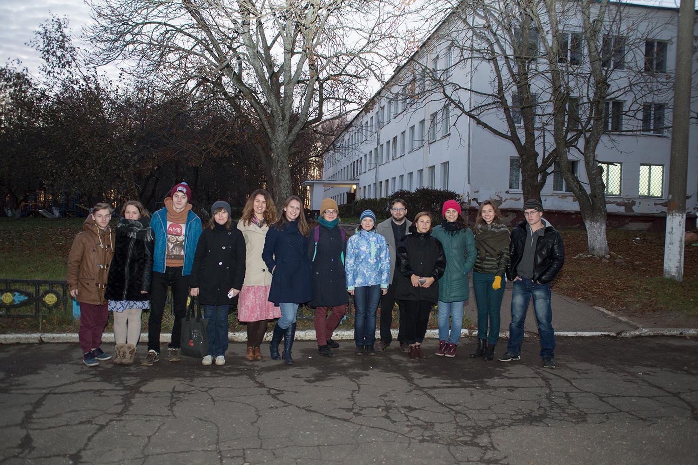 Волонтеры в Сафоновском детском доме-школе
