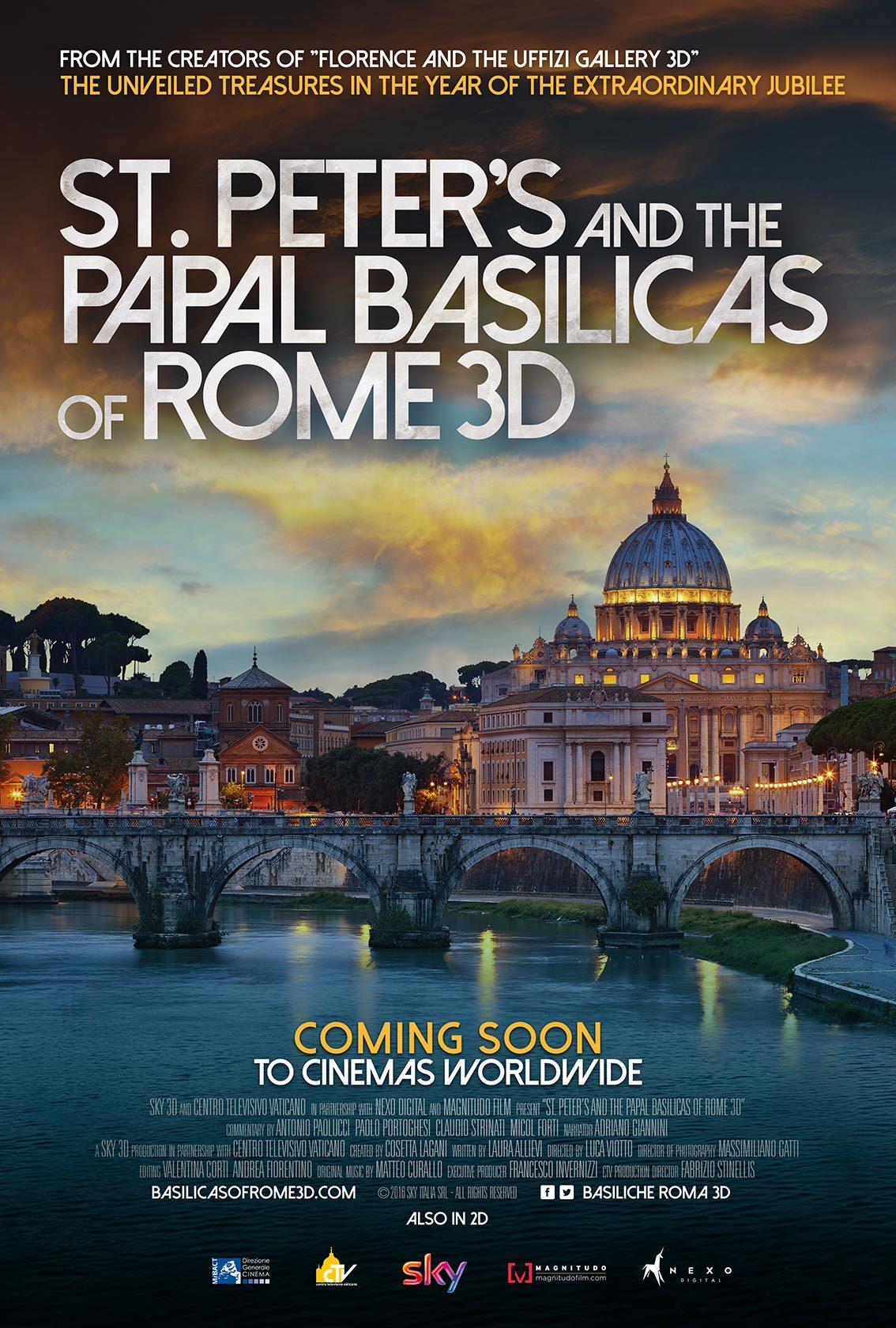 Собор Святого Петра и Патриаршие базилики Рима 3D смотреть фото