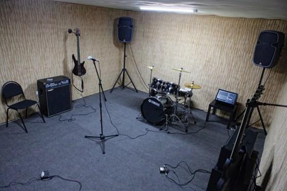 Фото репетиционная база Soundchek