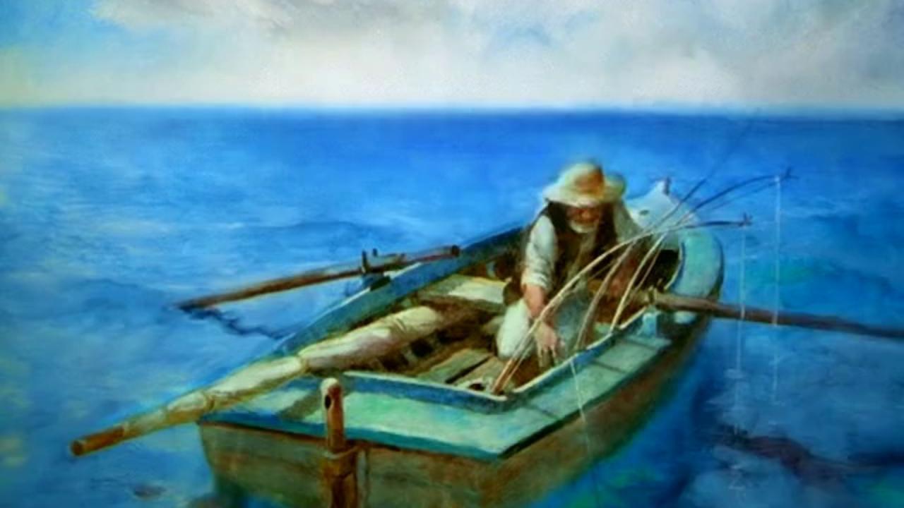 Старик и море смотреть фото