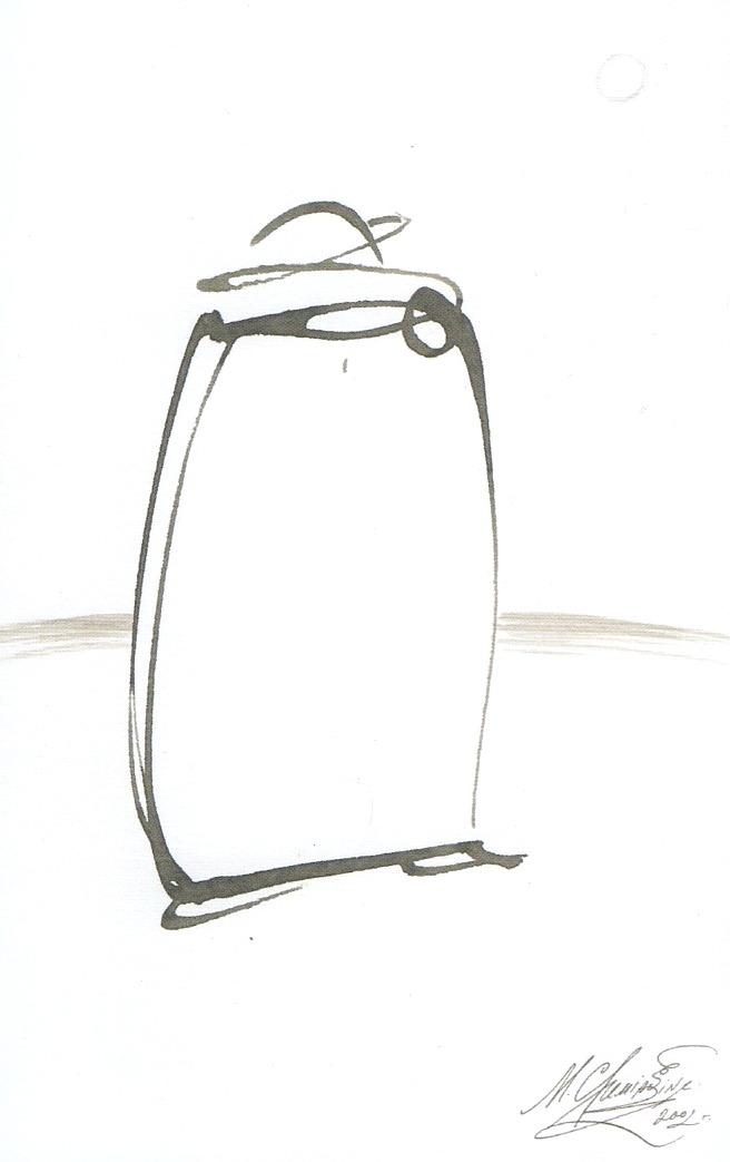 Михаил Шемякин. Рисунки в стиле дзен смотреть фото
