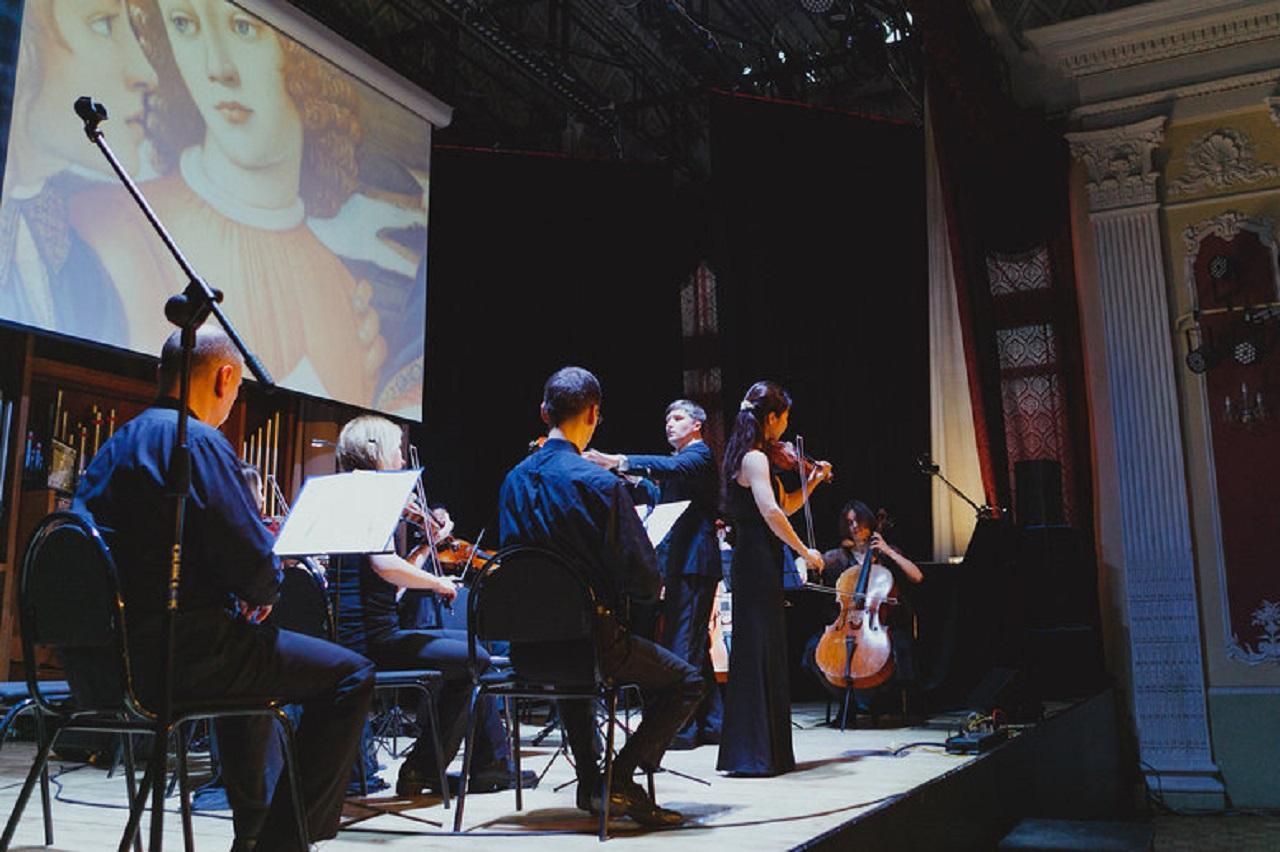 Хироко Нинагава (скрипка), Мария Блажевич (орган) смотреть фото