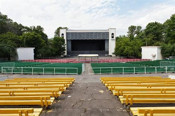 Фото зеленый театр