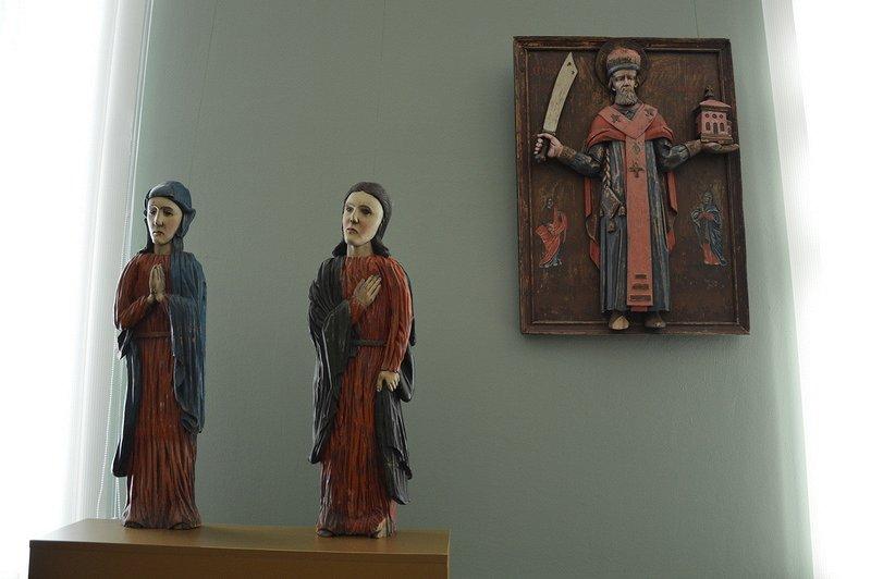 Обновленная экспозиция иконного зала смотреть фото
