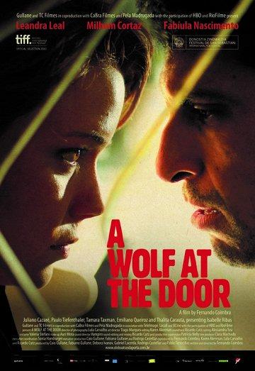 Постер Волк у двери