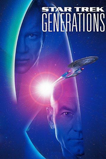 Постер Звездный путь: Поколения