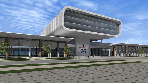 Это здание планируется построить менее чем за полгода