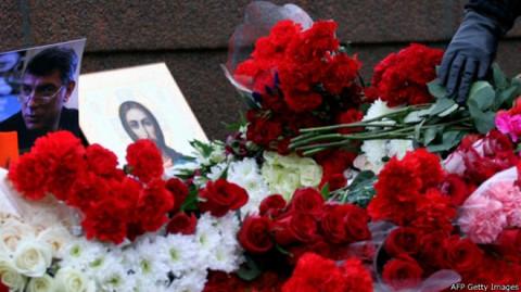 Место убийства Бориса Немцова сейчас