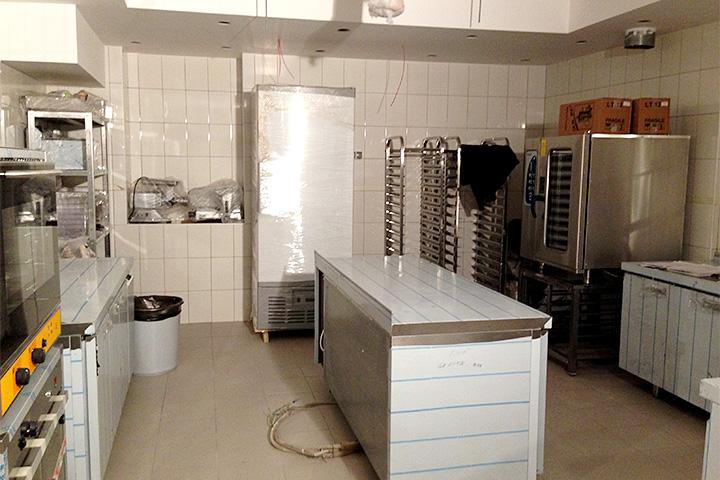 Один из вариантов расстановки кухонного оборудования