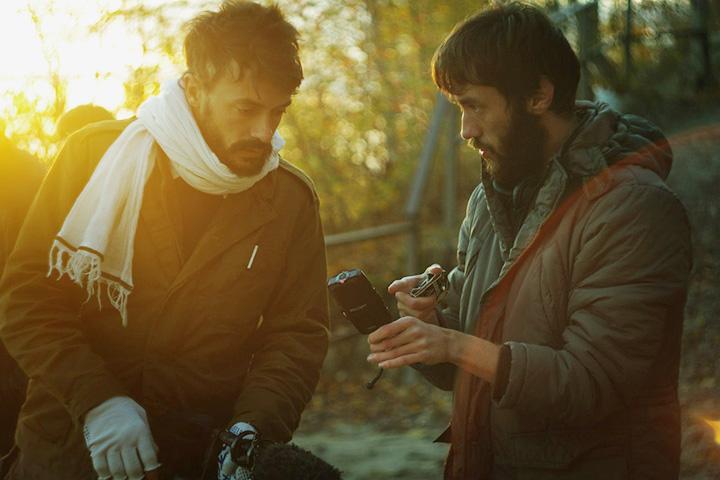 Булат с Винсентом Муном, французским режиссером, снимавшим некоторое время назад Кавказ — как раз при поддержке Ored Recordings