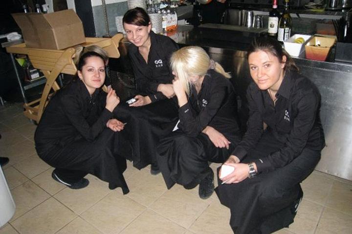 Работая ресторанным обозревателем, Куйда отваживалась на радикальные поступки: как-то казнила ресторан Артемия Лебедева, в другой раз неделю проработала официанткой в баре GQ