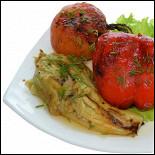 Ресторан Черемушка  - фотография 6 - Овощной шашлык