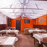Ресторан Золотой шафран - фотография 3 - Крытая веранда