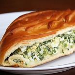 Ресторан Пироговая Рогова - фотография 1 - Пирог с зеленым луком и яйцом