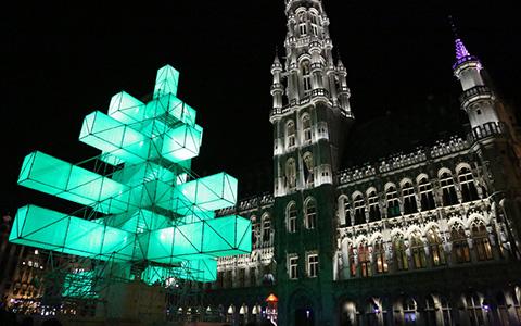Как украшают зимой Нью-Йорк, Берлин, Страсбург и другие города