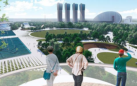 Парк на Ходынском поле: 10 лучших проектов, вышедших в финал