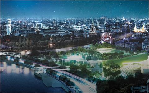 Как будет выглядеть новый парк у Кремля